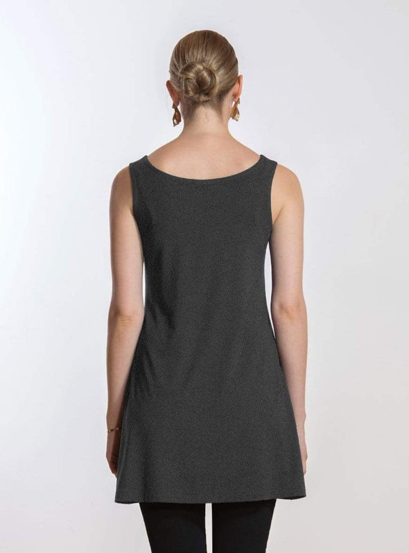 Carlee reversible a-line tunic