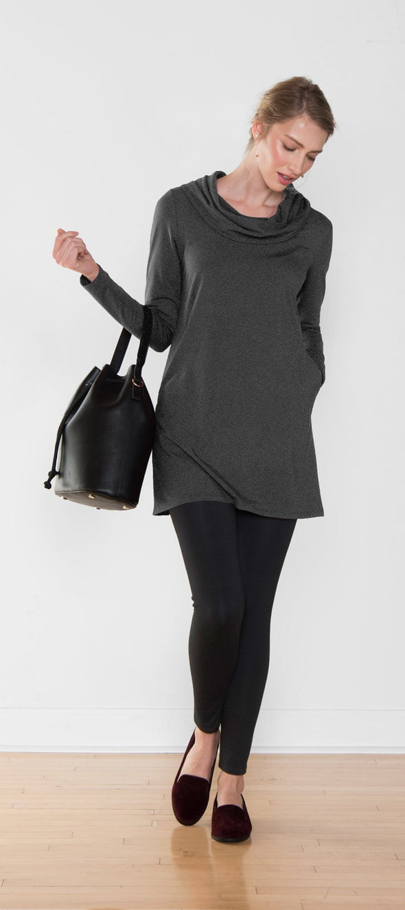 Charlene cowl hooded tunic
