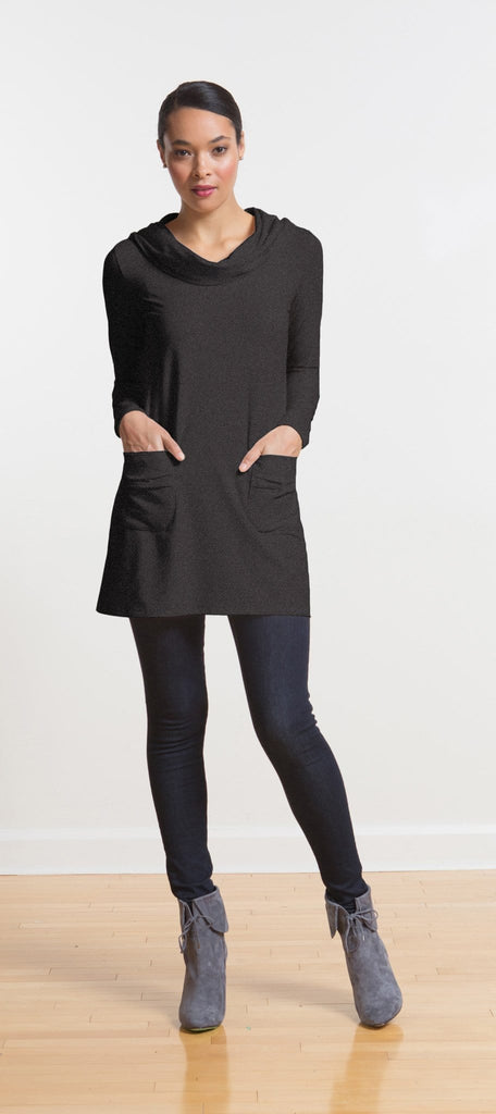 Charlie cowl hooded tunic