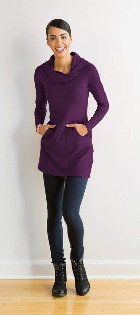 Christina hooded tunic