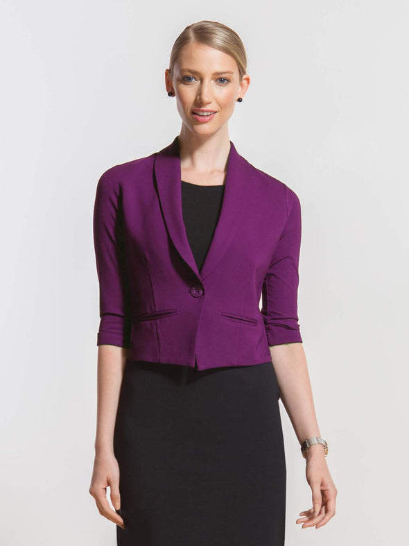 Claire tailored crop jacket