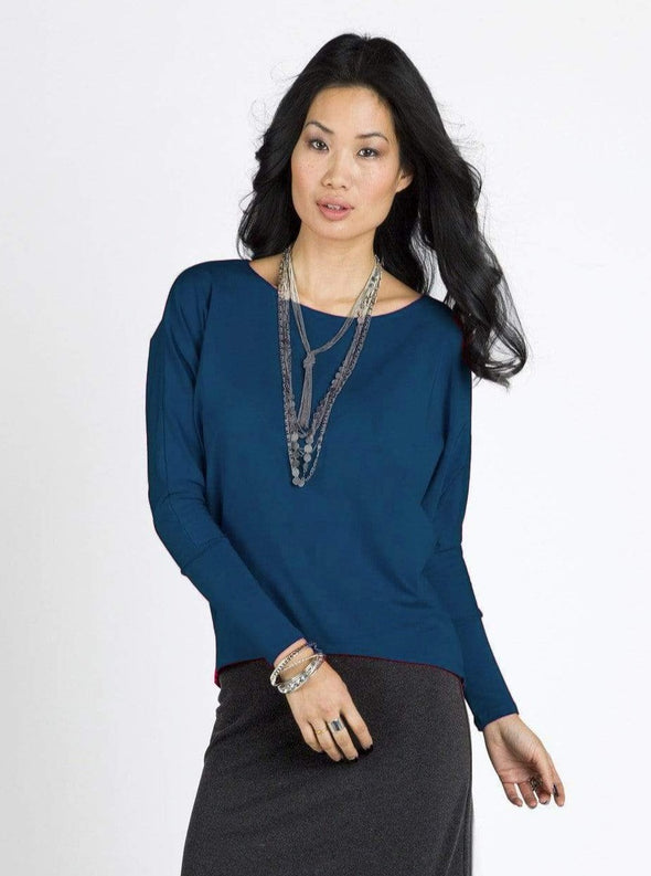 Connie bat-sleeve top - FINAL SALE