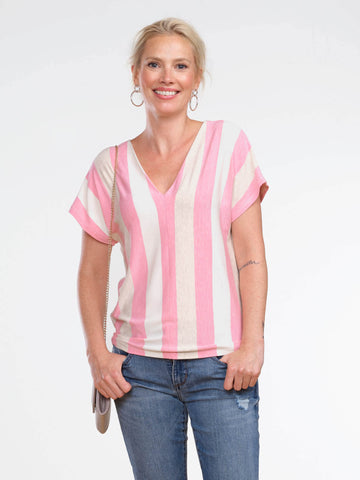 Daisy centre seam top