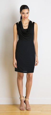 Denise double-strap dress