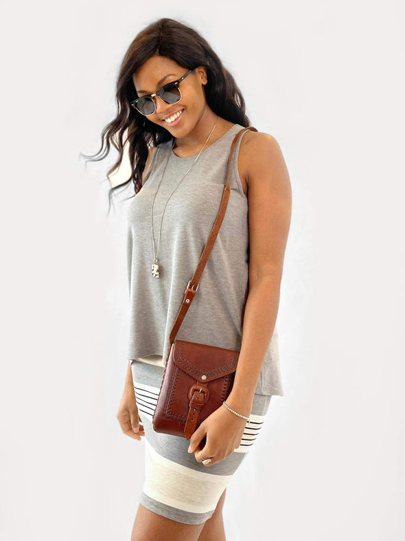 Eliana high-low tank top