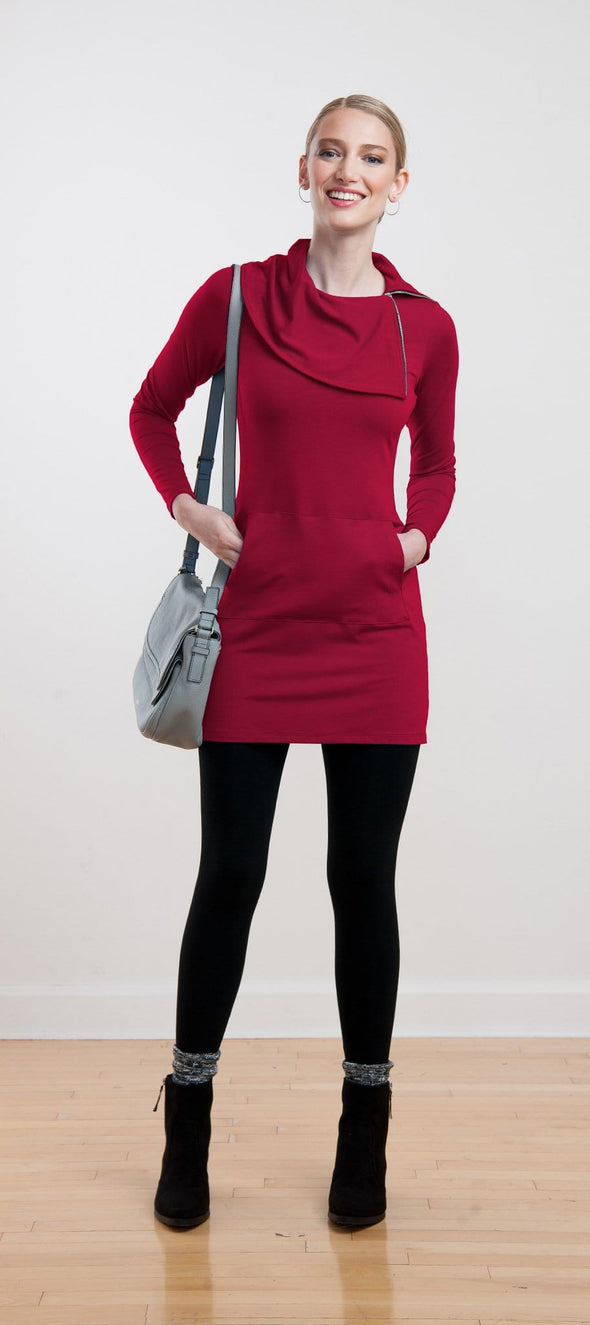 Hunter zip collar pocket tunic - FINAL SALE