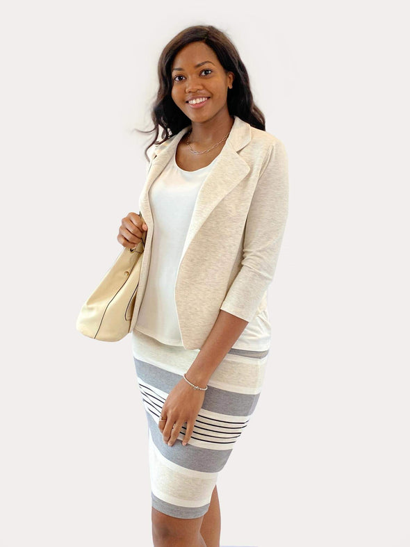 Ivy soft cropped blazer