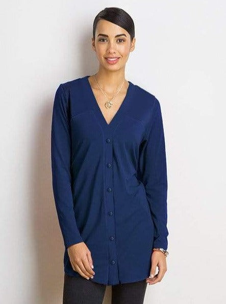 Jamie buttoned tunic - FINAL SALE
