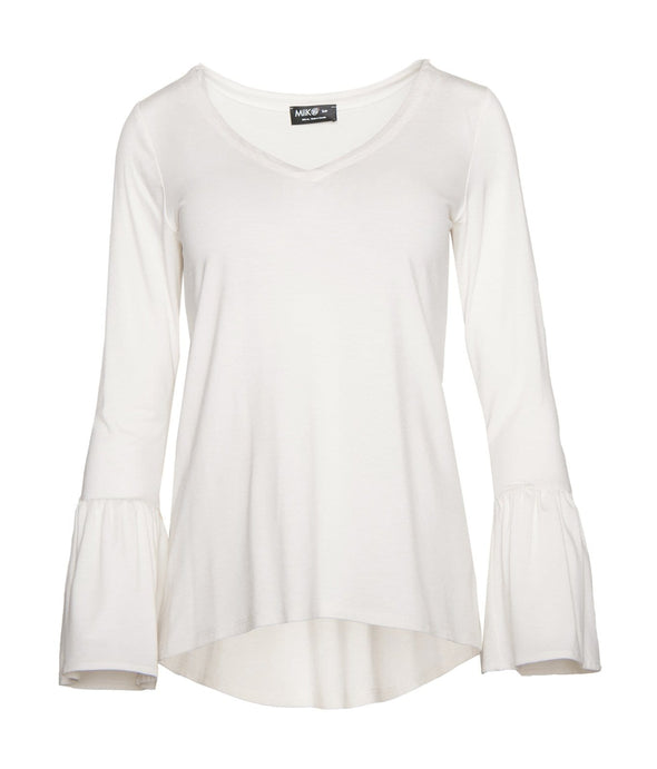 Joni ruffle sleeve top