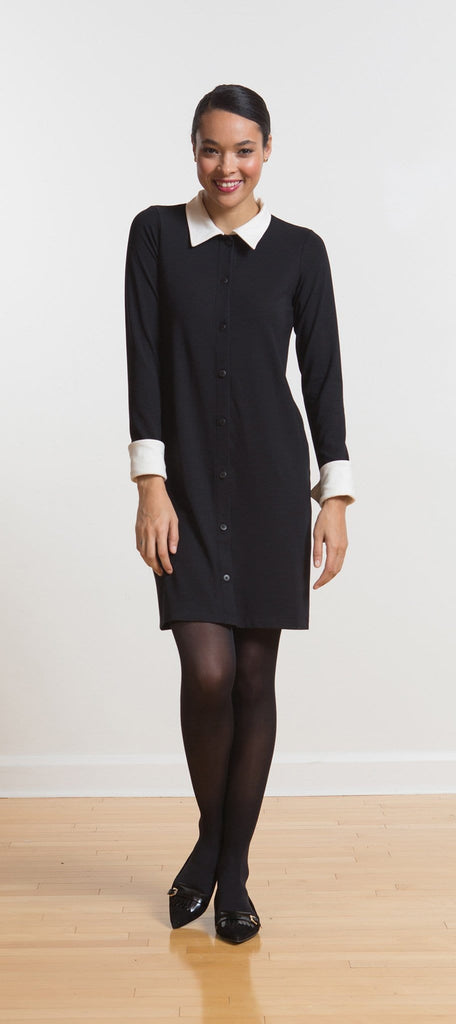 Jordon buttoned shirt dress