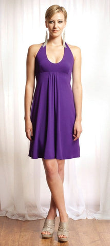 The Jude halter dress