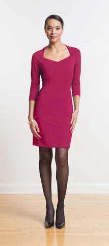 Julia jewel neck dress