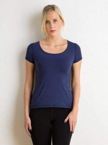 Kaitlin scoop-neck top
