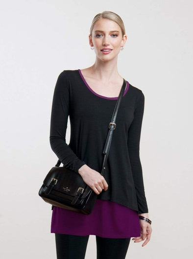 Karla two-layer tunic - FINAL SALE