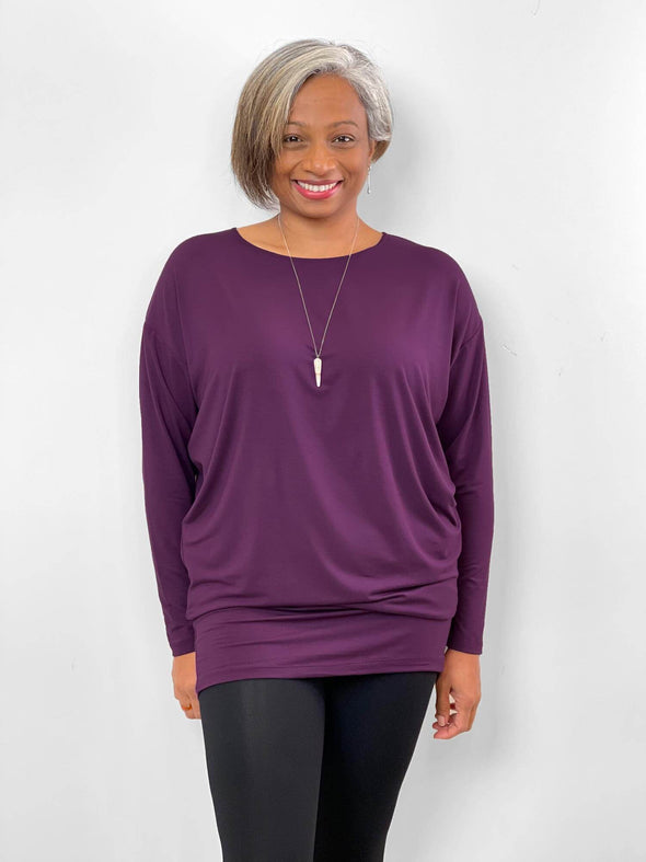 Kaya bat sleeve tunic