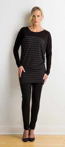 Kaylee two-tone tunic