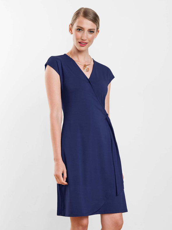 Kelsey wrap dress