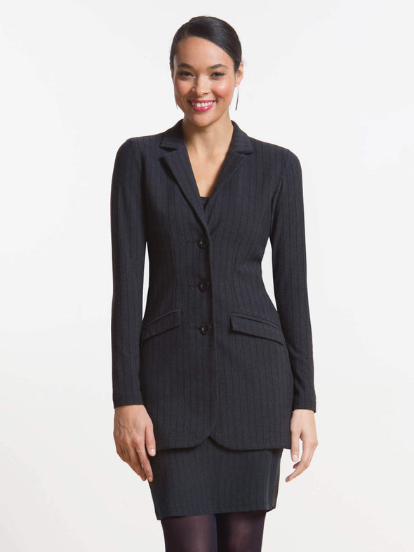 Kenia long tailored blazer