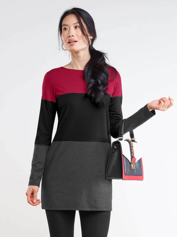 Kennedy colourblock tunic