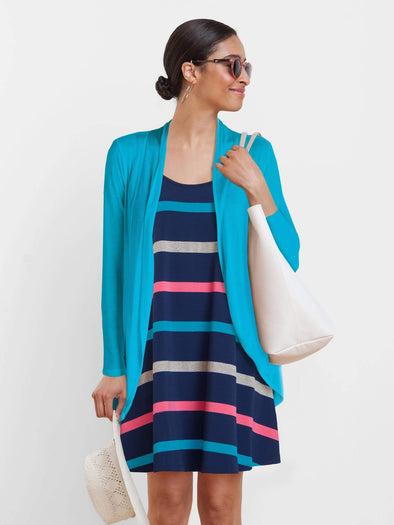 Kim long circle cardi - FINAL SALE