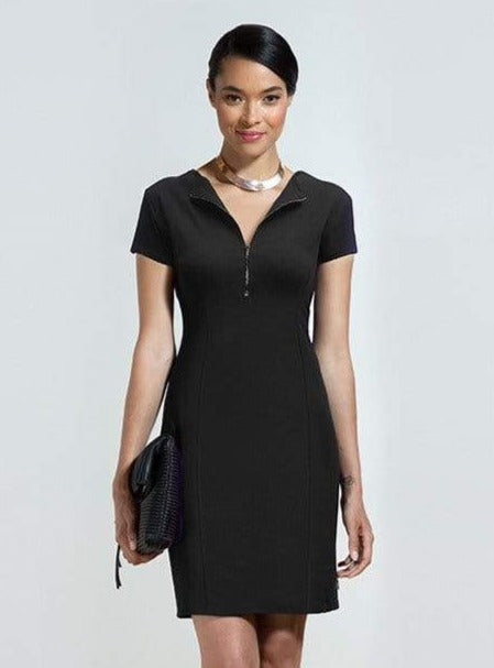 Kristen tailored zipper dress