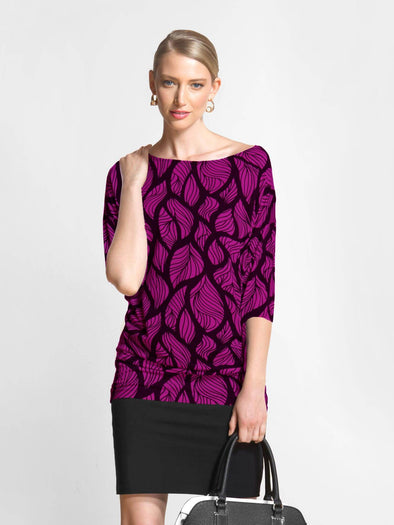 Kye bat-sleeve tunic