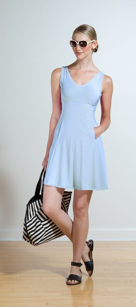 Larissa cutout pocket dress