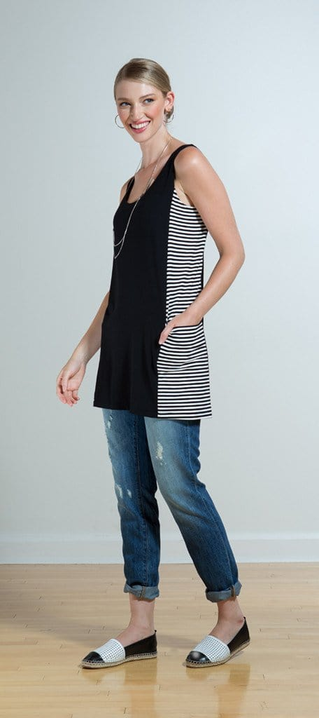 Lesia reversible pocket tunic/coverup - FINAL SALE