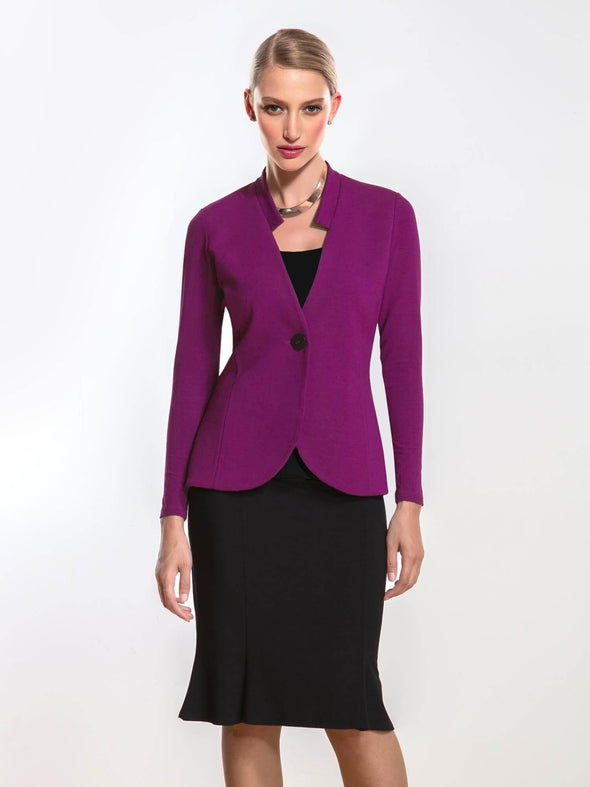 Lola tailored single button blazer
