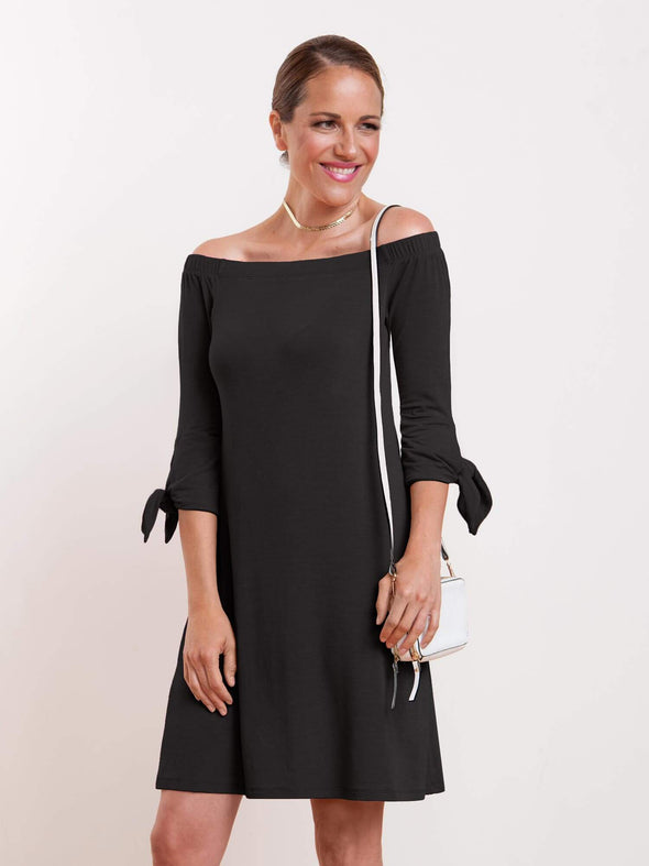 Lulu off-the-shoulder dress