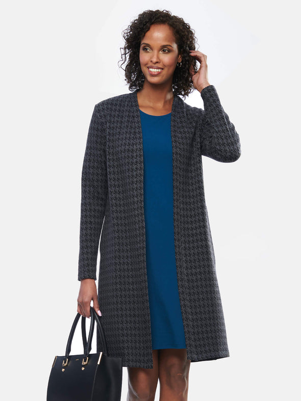 Malia long tailored cardi