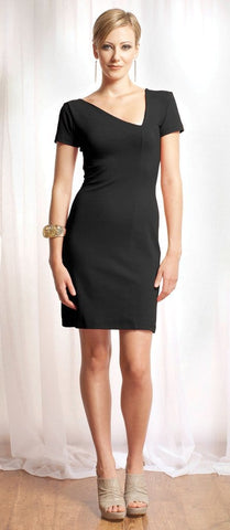 Maeghan asymmetrical dress