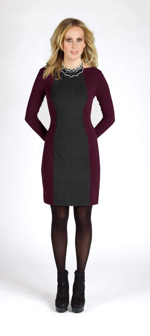 Motria reversible hourglass-seamed dress - FINAL SALE