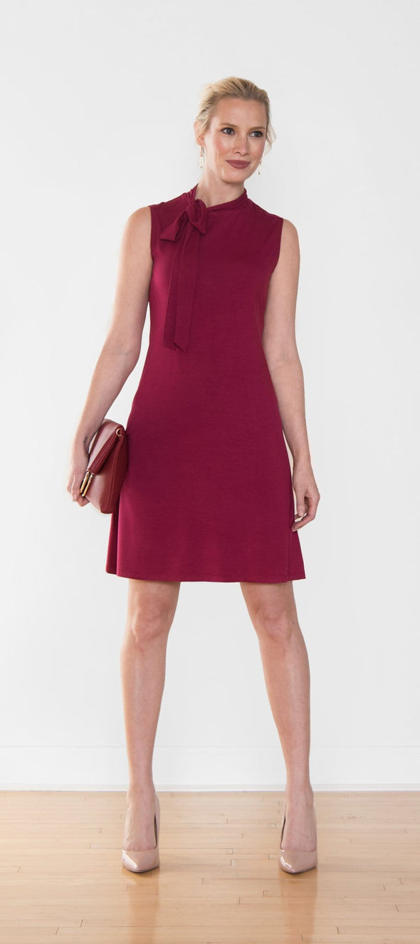 Noelline sleeveless tie dress - FINAL SALE