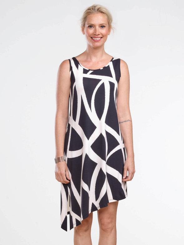 Nova asymmetrical dress