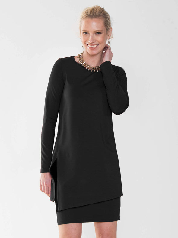 Phoebe side-slit tunic - FINAL SALE
