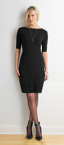 Sasha reversible key-hole dress