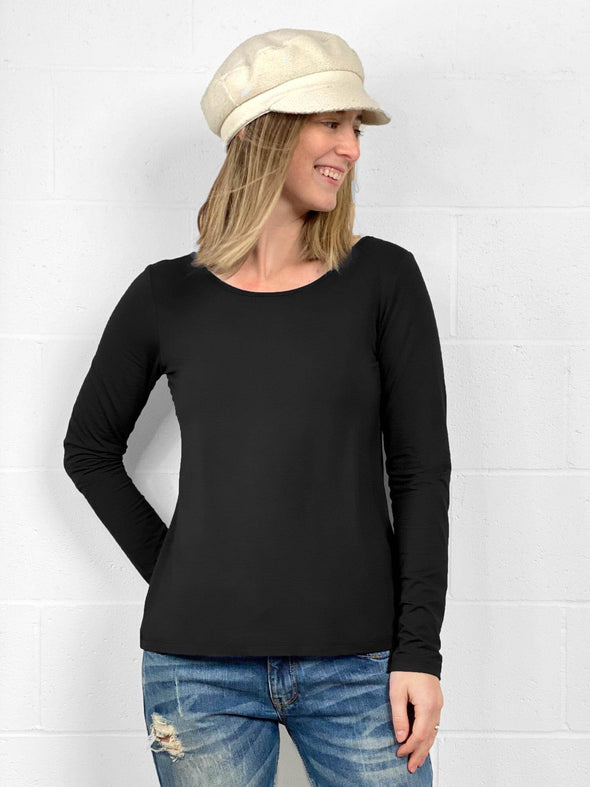 Shannon long sleeve reversible tee