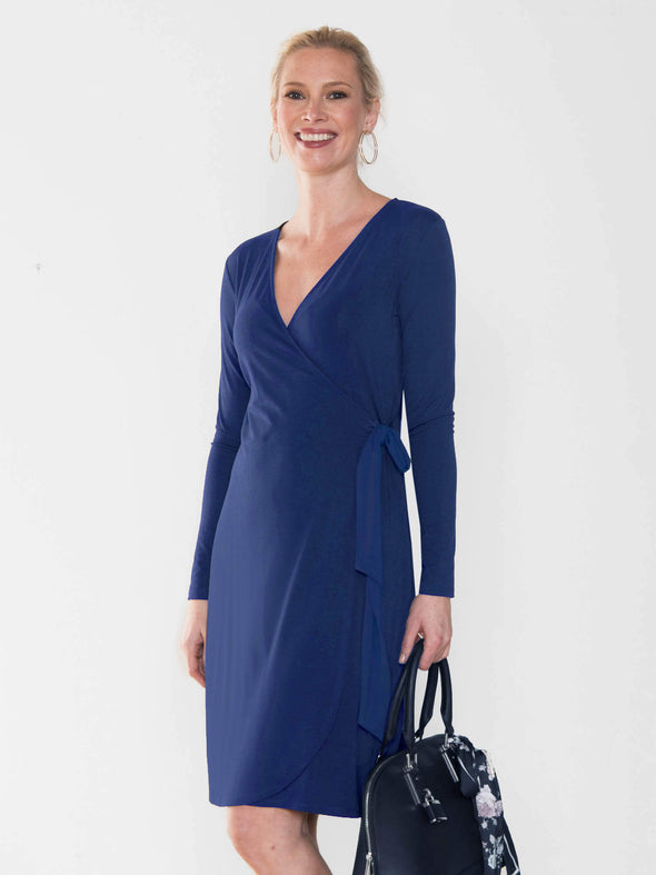 Sonya wrap dress