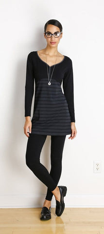 Teagan reversible a-line tunic