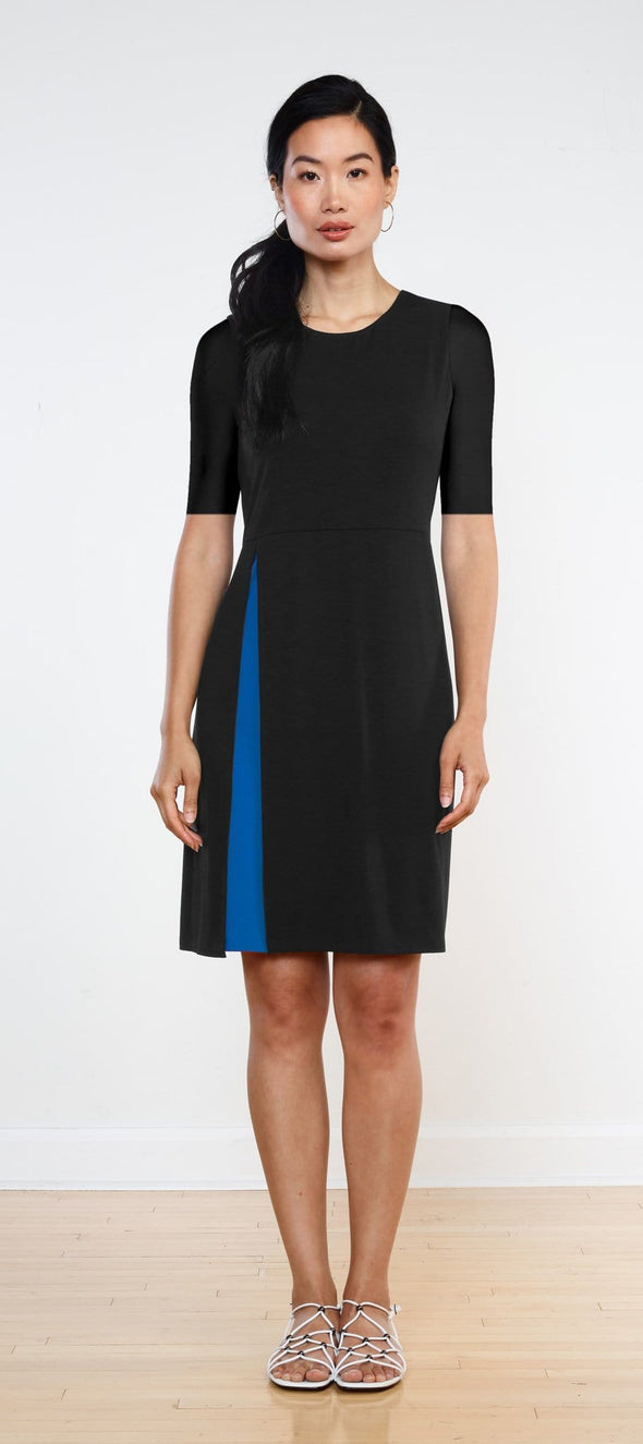 Bea double layer slit dress