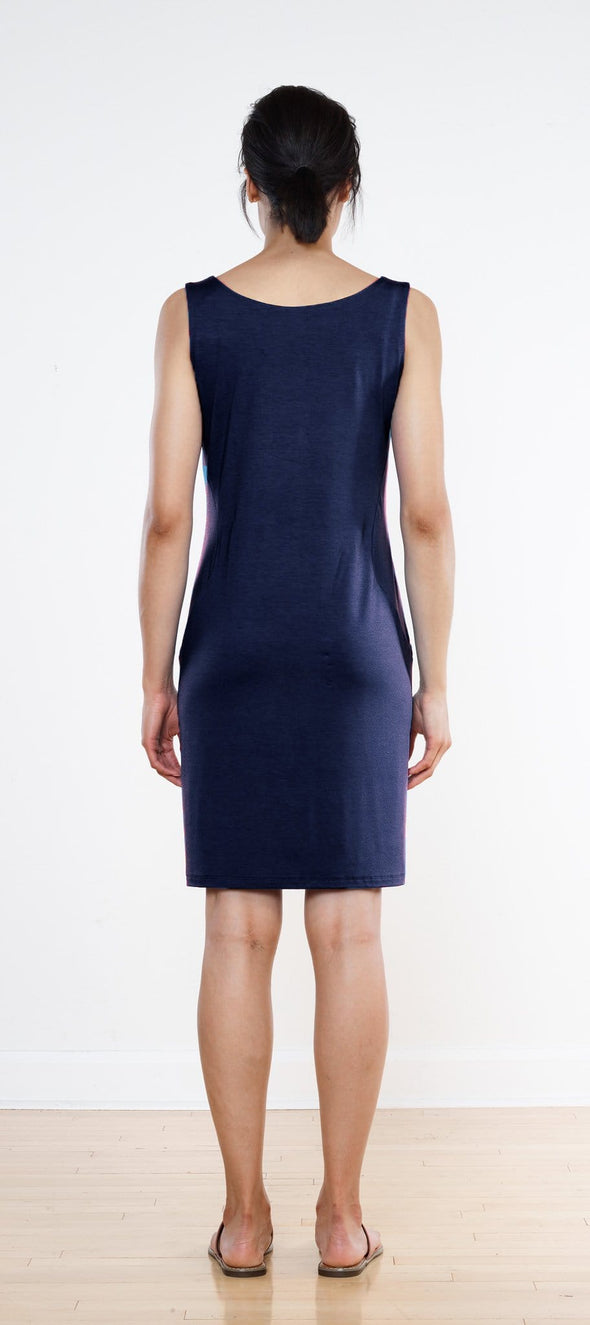 Beth curved pocket dress
