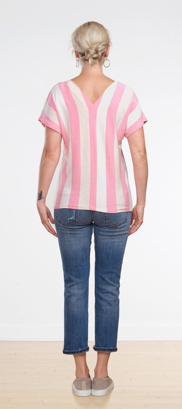 Daisy centre seam top - FINAL SALE