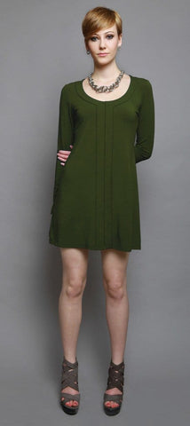 Johanne center-band tunic