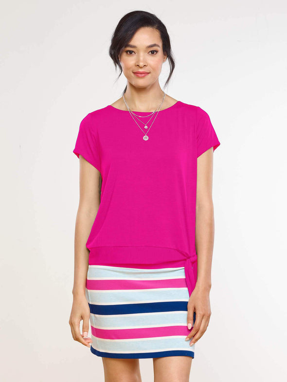 Melody side tie top