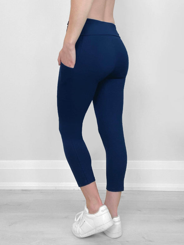 Seana pocket capri legging