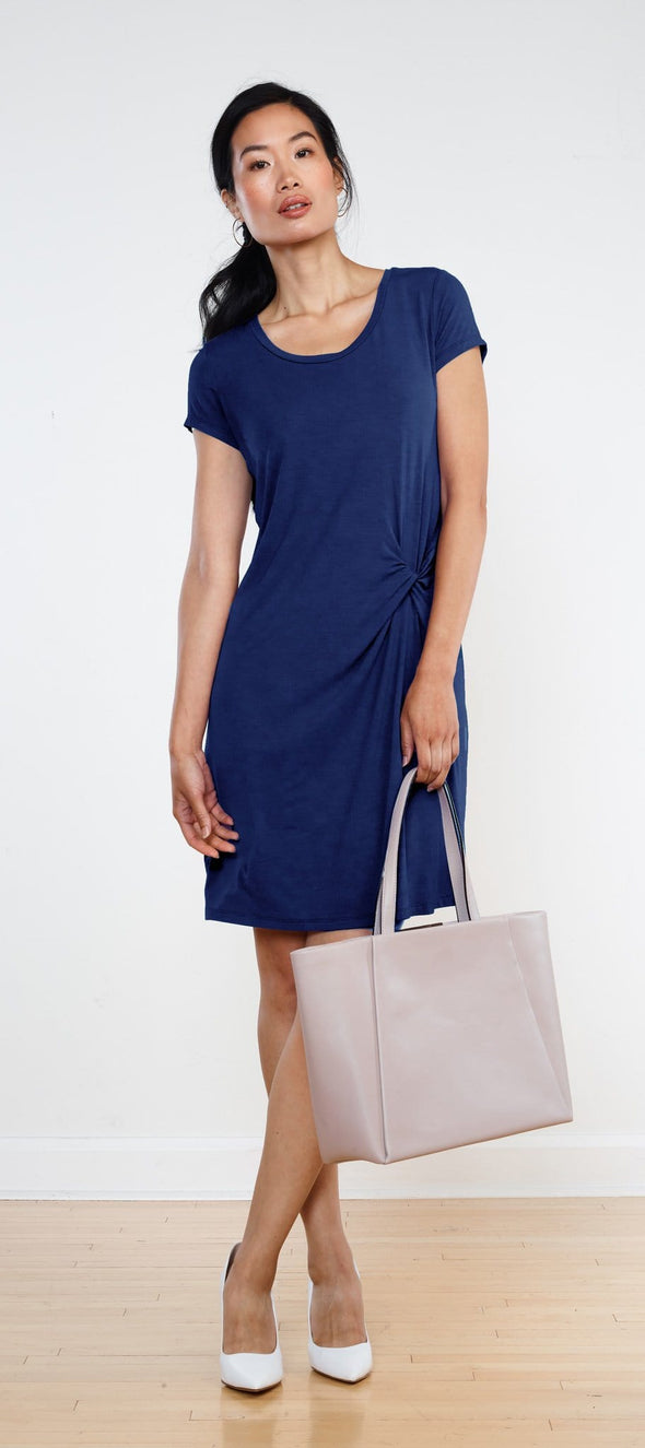 Roberta knotted dress - FINAL SALE