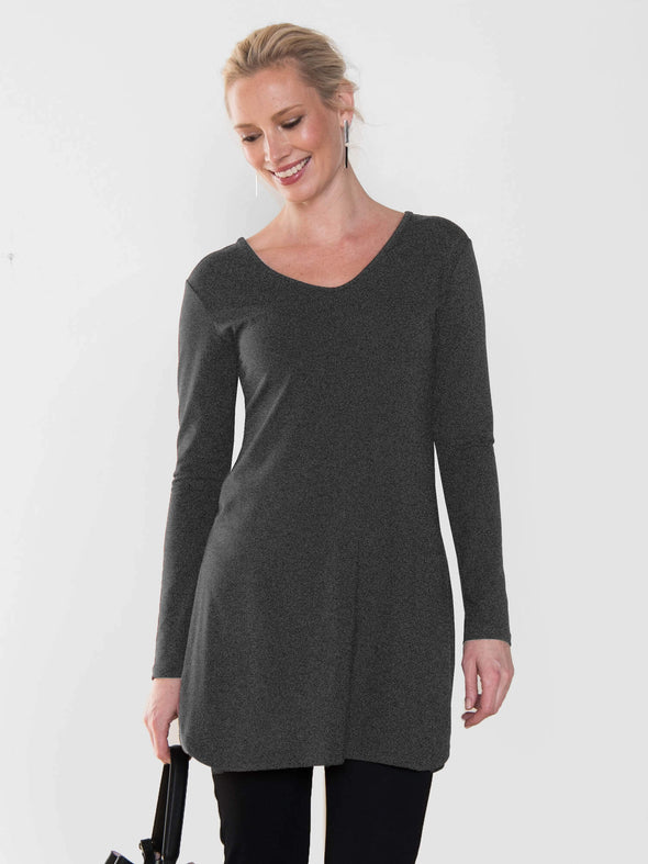 Suzi double side-slit tunic