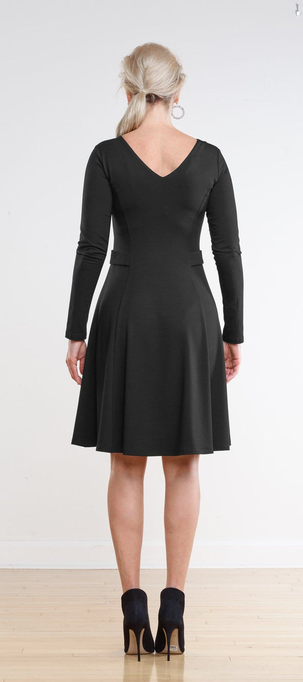 Tatum tailored flared dress