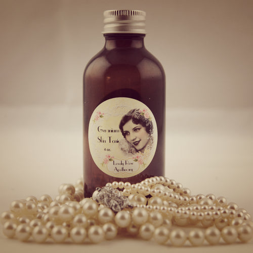 Geranium Skin Tonic - The Lovely Rose Apothecary